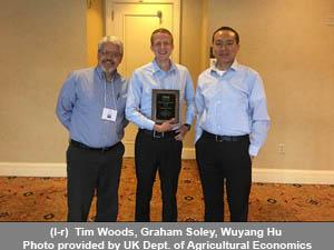 Tim Woods, Graham Soley, Wuyang Hu