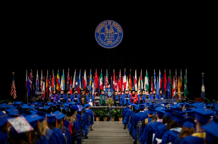 UK to Honor May 2021, 2020 Graduates This Weekend: CAFE's Cameron French will speak at commencement ceremonies