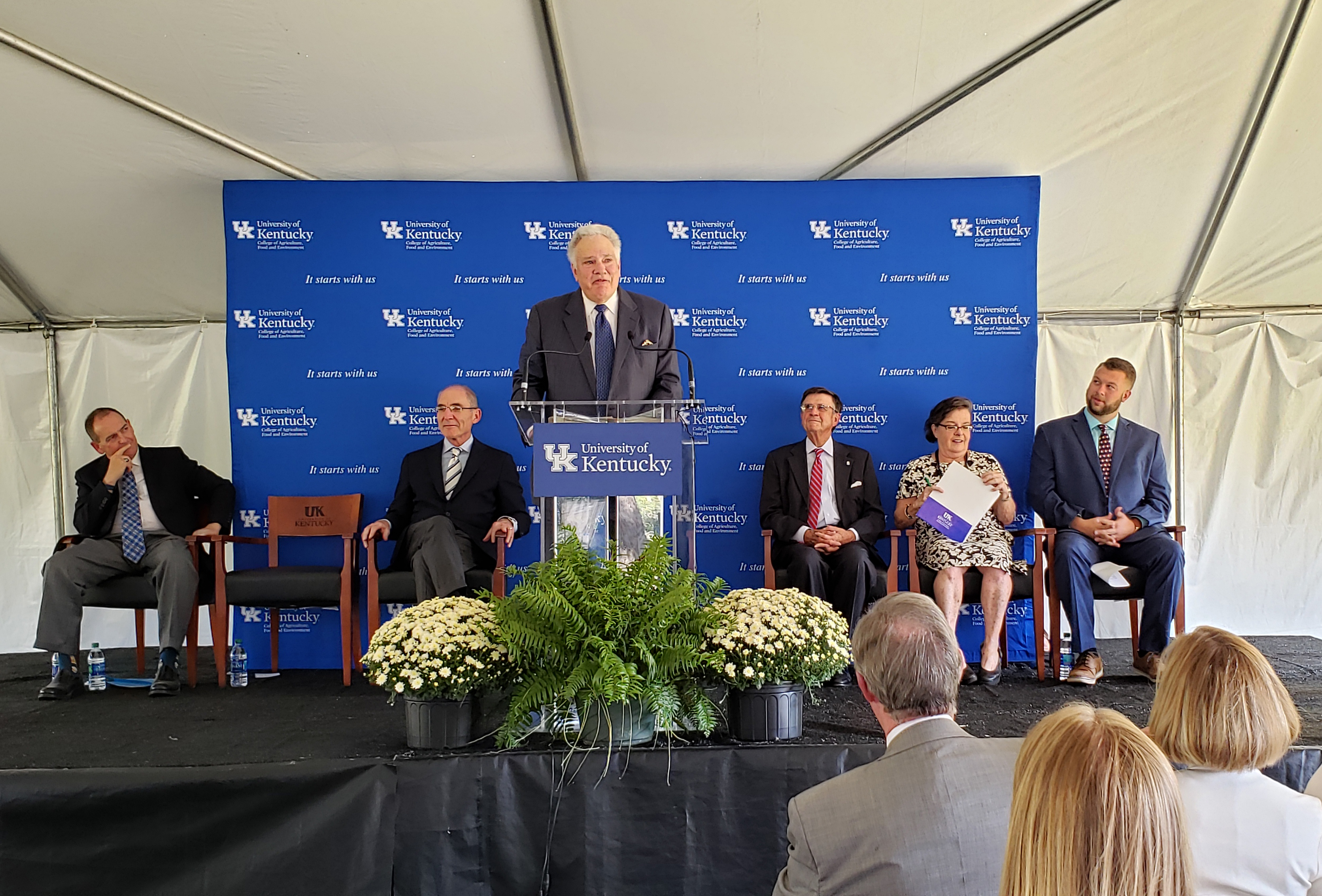 UK College of Agriculture, Food and Environment celebrates renovation of historic home, formation of James B. Beam Institute for Kentucky Spirits