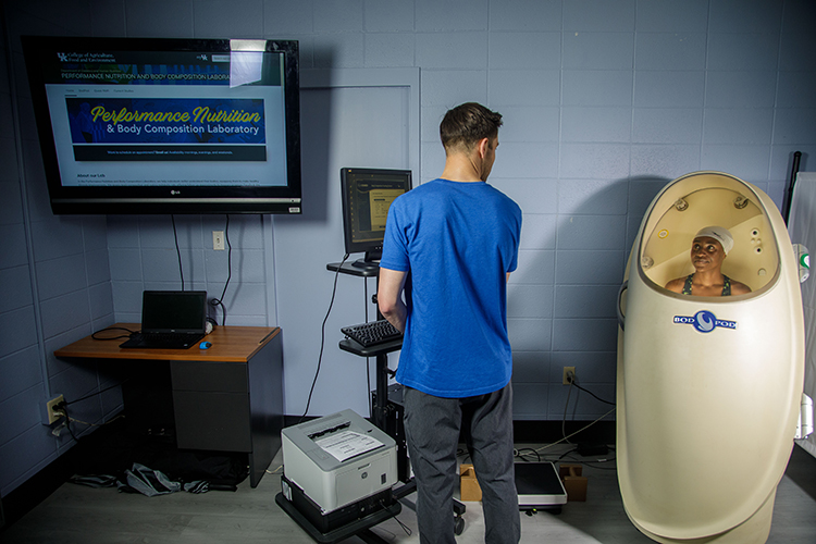 UK Performance Nutrition and Body Composition Lab opens to the public