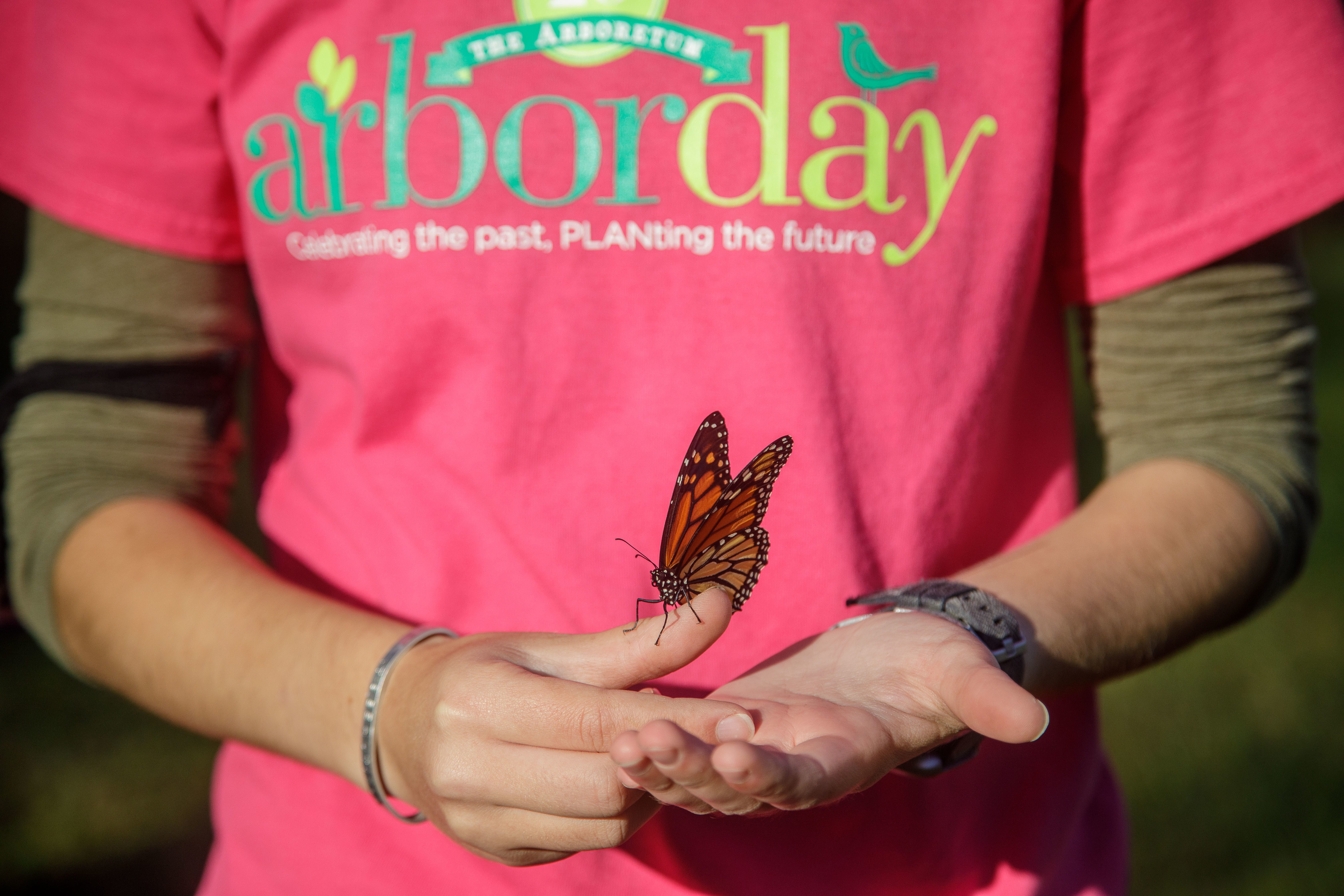 To The Arboretum, every day is Arbor Day