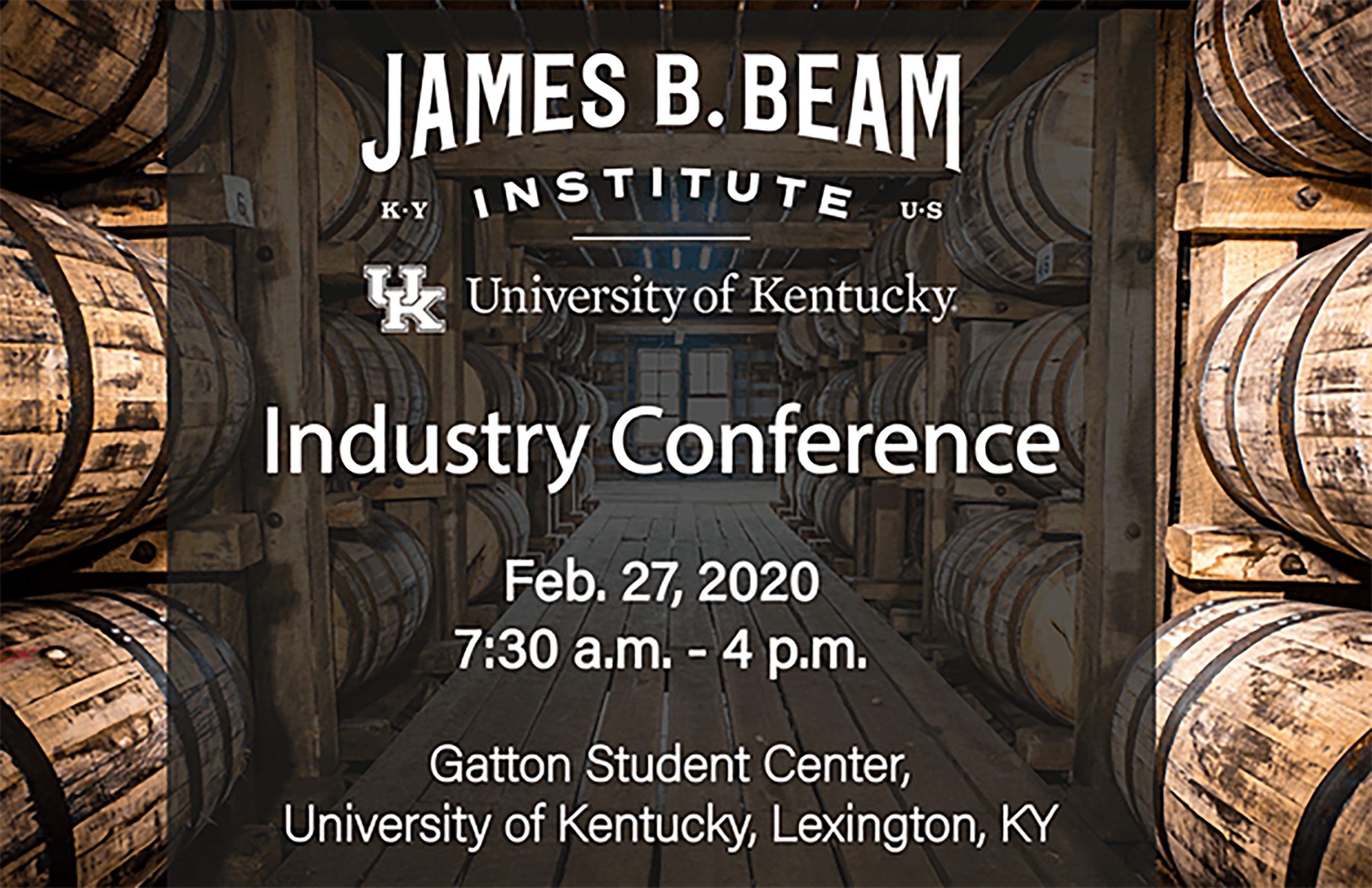 Inaugural James B. Beam Institute Industry Conference coming in February