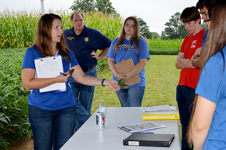 Registration open for UK High School Crop Scouting Competition