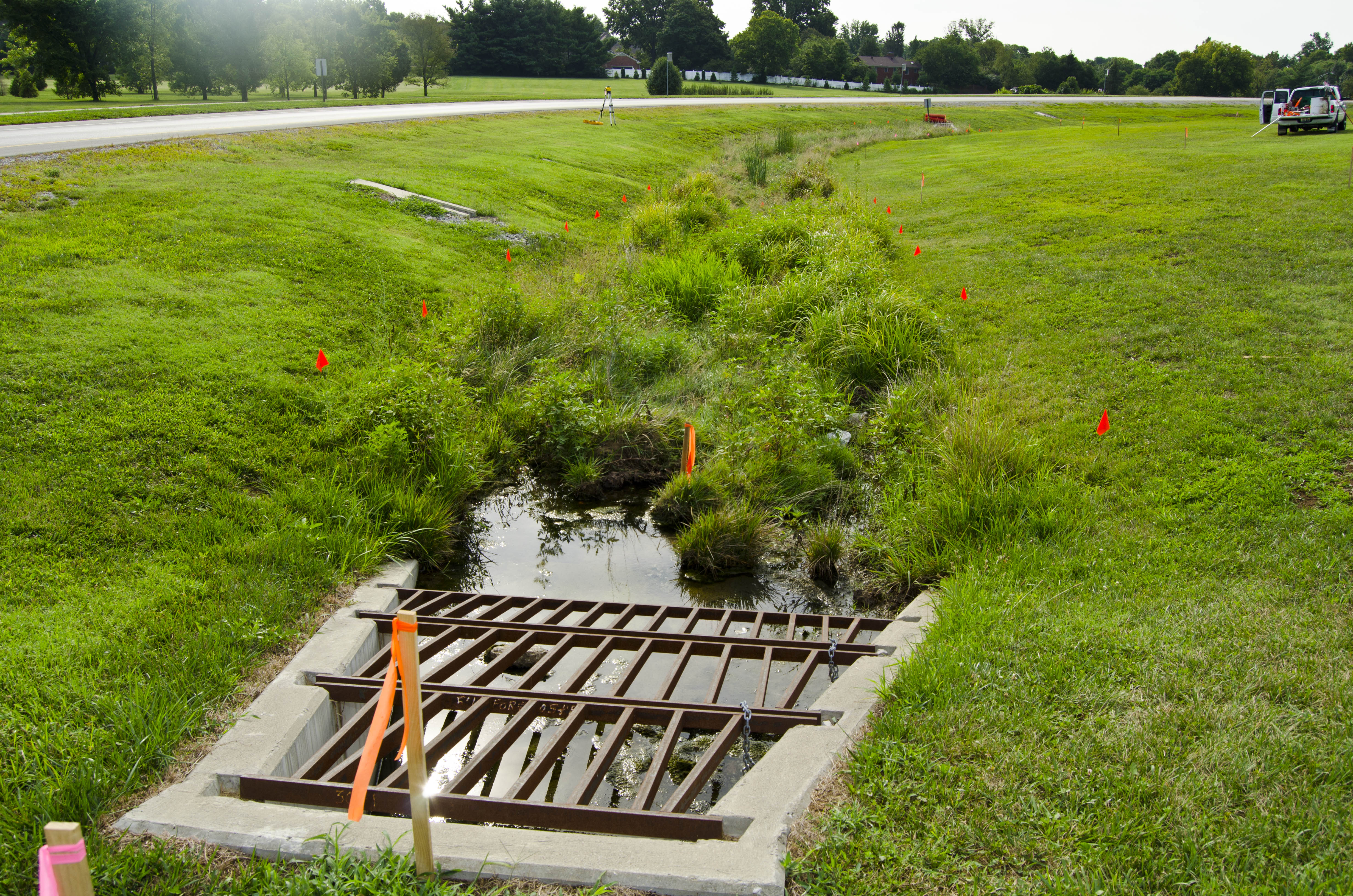 UK stream restoration project to improve water quality, provide outdoor classroom for students