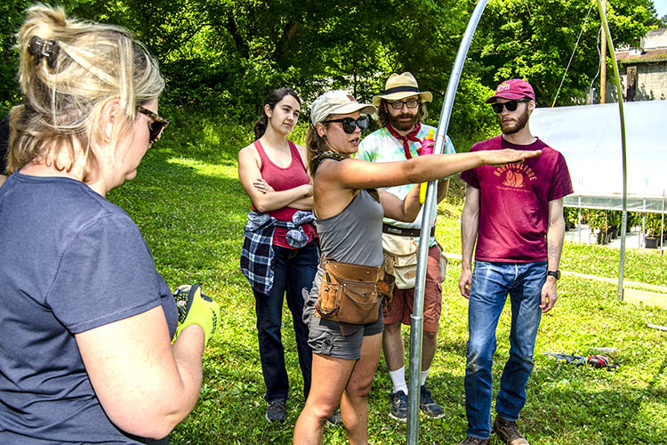 Students, faculty from Midwest explore Eastern Kentucky foodways