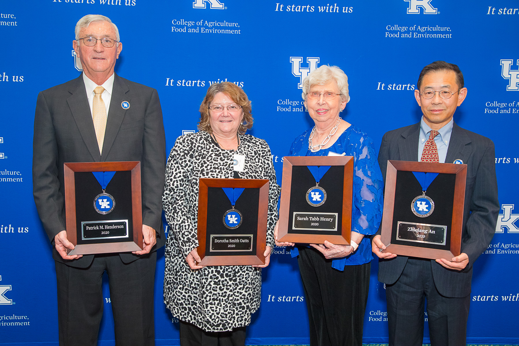 College of Agriculture, Food and Environment inducts latest class of distinguished alumni