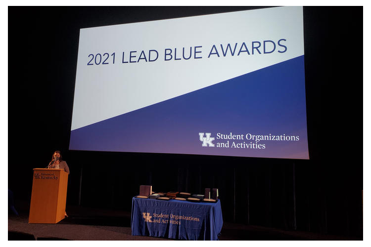 Campus Kitchen at the University of Kentucky wins big during Lead Blue, Singletary awards ceremony