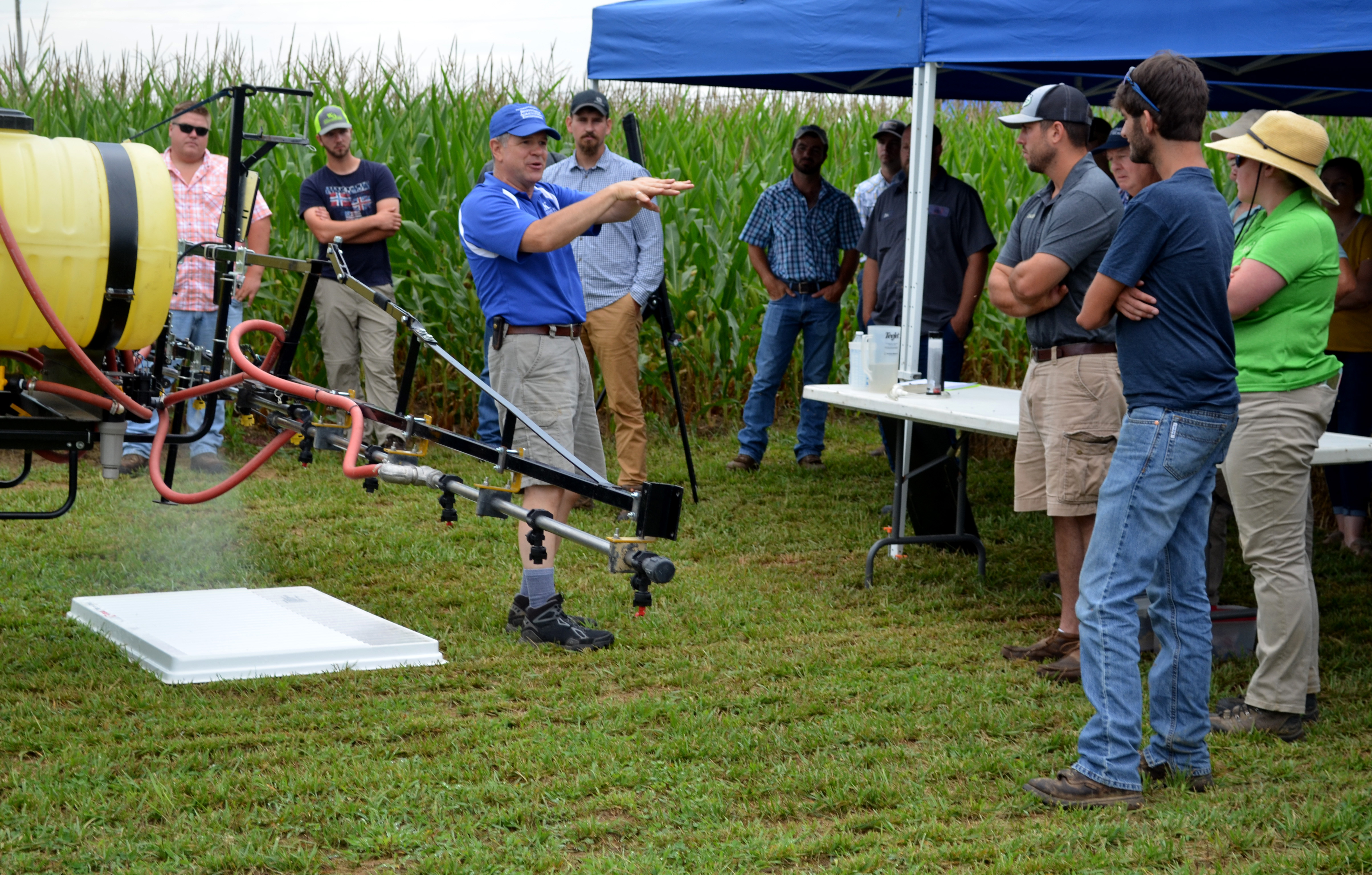 Spray Clinic helps producers make better informed applications