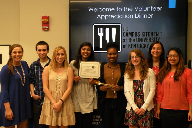 2015-16 UK Campus Kitchen Executive Committee
