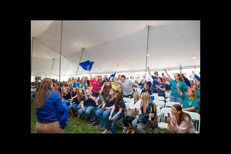 UK Field Day opening ceremony had a pep rally-like feel.