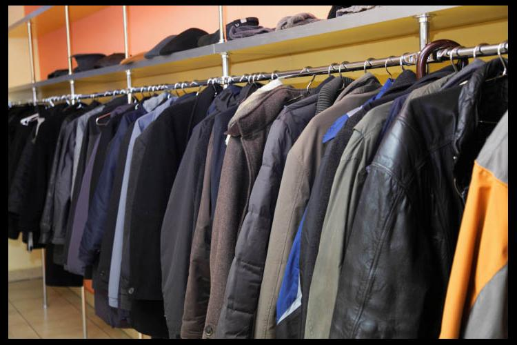 Rack of coats