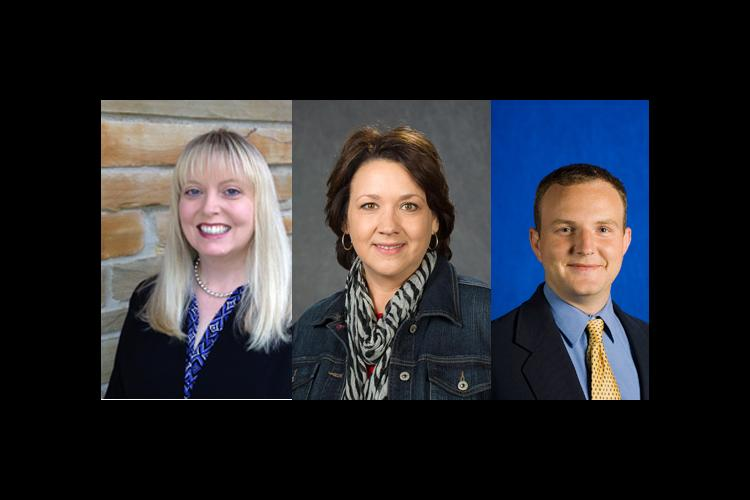 Mallory, Turner and Wilson are leaders within the National Association of Extension 4-H Agents.