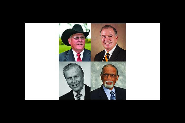 2017 inductees include clockwise from top left: Charles Boyd, Brady Deaton, Rupert Seals and Harold Love.