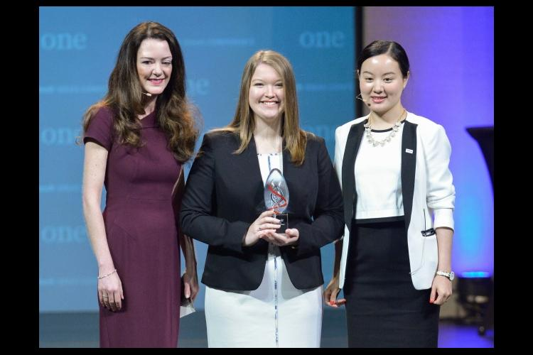 Alonna Wright, a junior in the University of Kentucky's College of Agriculture, Food and Environment, recently received the Alltech Young Scientist award.