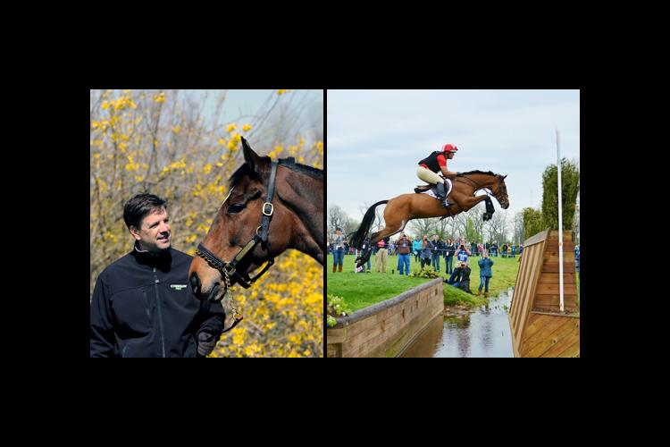 Thoroughbred trainer Graham Motion, left, and eventer Buck Davidson are featured in the next distinguished lecture series.
