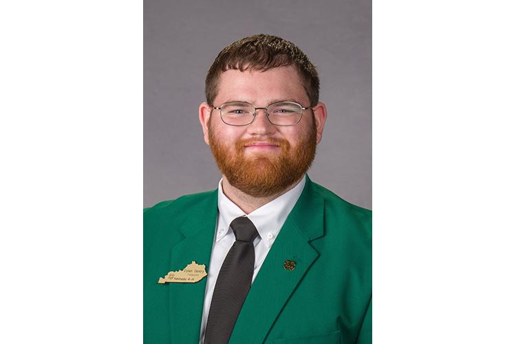 UK senior Dylan Gentry will represent the United States during the Global 4-H Network Summit next month.  Photo by Matt Barton, UK agricultural communications.