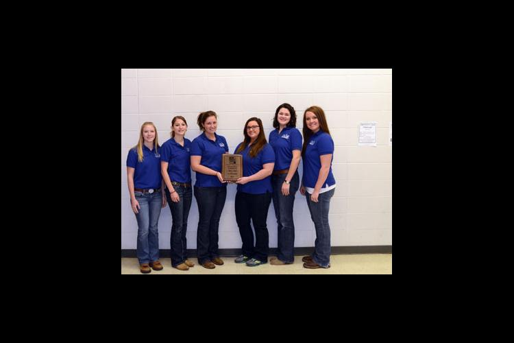 From left: Caitlin Timberlake, Elizabeth Langlois, Meredith Tapp, Cecilia Purtee, Veronica Bill and Jessica Williamson
