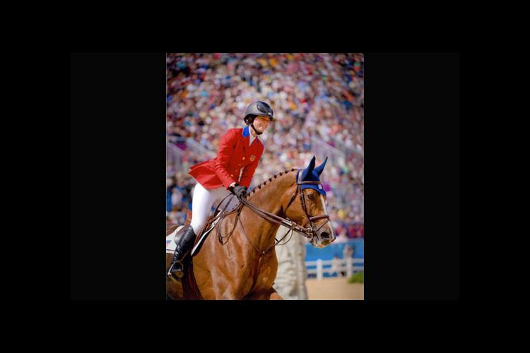 Reed Kessler and her horse, Cylana, during the 2012 Olympics.