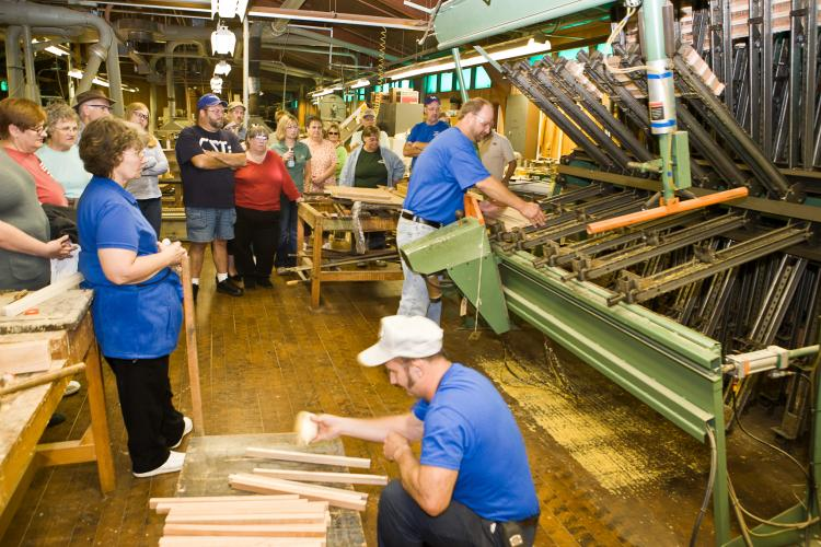 Cutting Board worshop at previous Moutain Ag Week