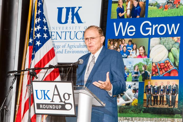 C. Oran Little, retired dean of the University of Kentucky College of Agriculture, Food and Environment