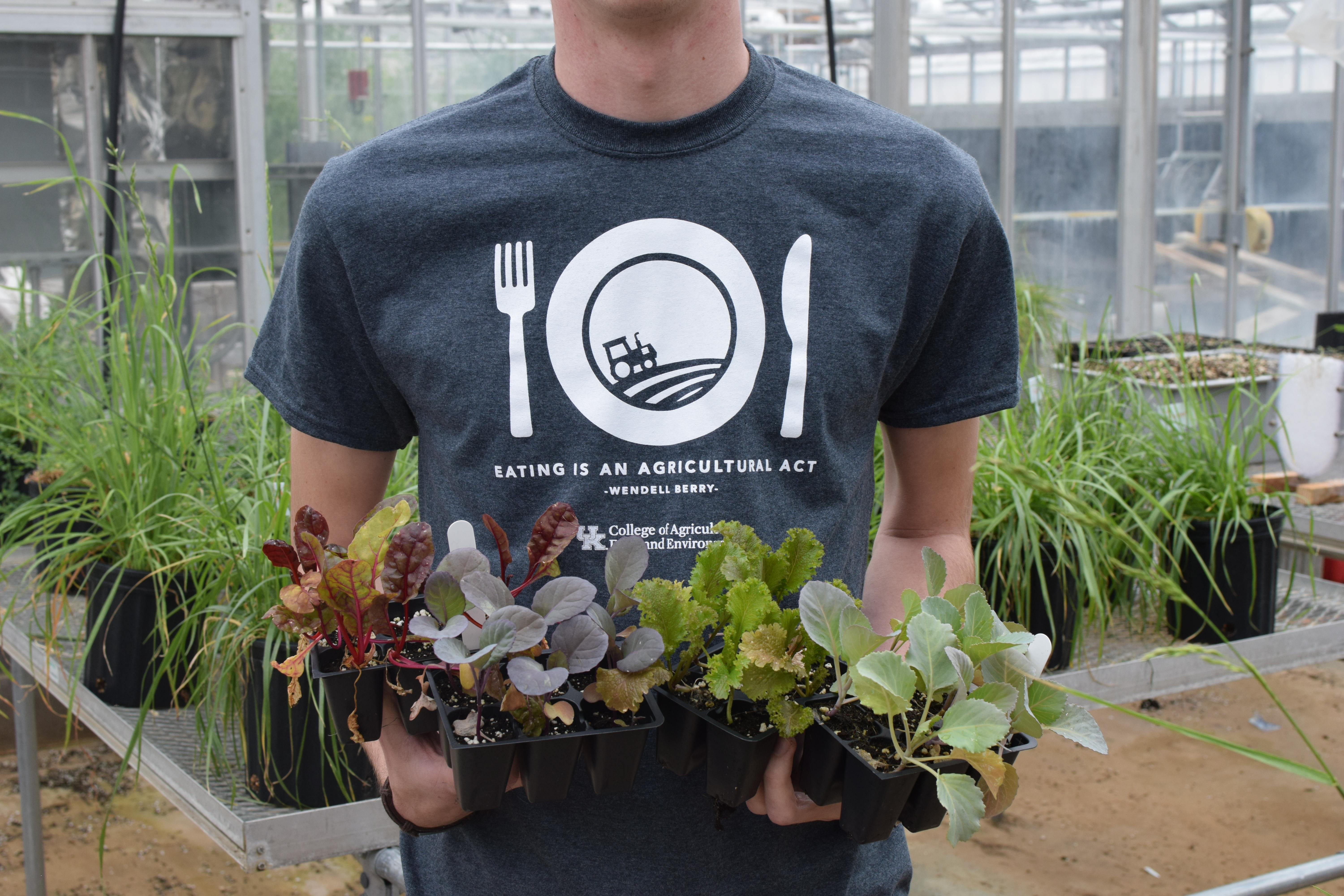 UK College of Agriculture, Food and Environment will celebrate Ag Awareness Day April 11. Photo provided by Seth Riker