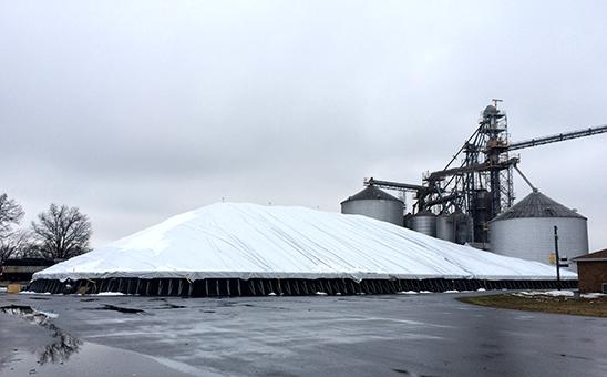Producers storing grain in alternative structures should fill them last and empty them first.