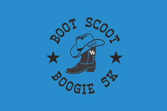 Boot, Scoot and Boogie 5K Flyer