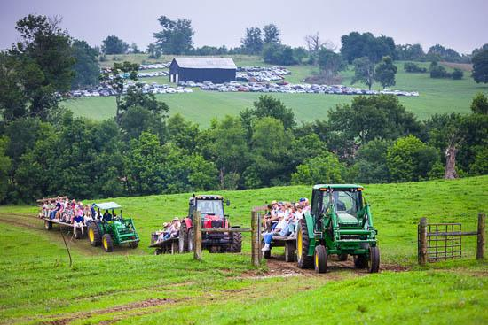 The 55th Annual Farm-City Field Day was held at the Julian Farm in Franklin County.
