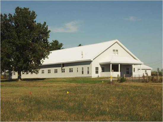 Dr. Walter W. Zent Mare Reproductive Health Facility on UK's Maine Chance Equine Campus.