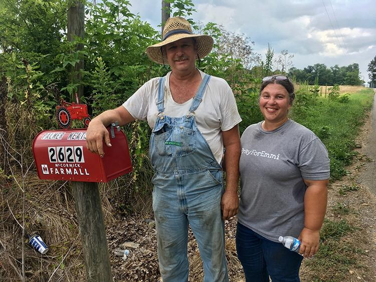 Michael and Stacie Palmer's farm in Almo is the site of this year's Western Kentucky Summer Forage Tour. Photo by Chris Teutsch, UK extension forage specialist.