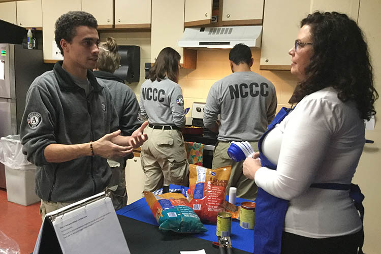 UK Extension supports AmeriCorps team with valuable lessons in cooking