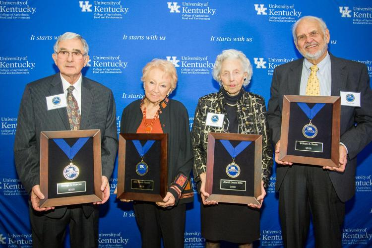 UK College of Agriculture, Food and Environment inducts 2018 Hall of Distinguished Alumni