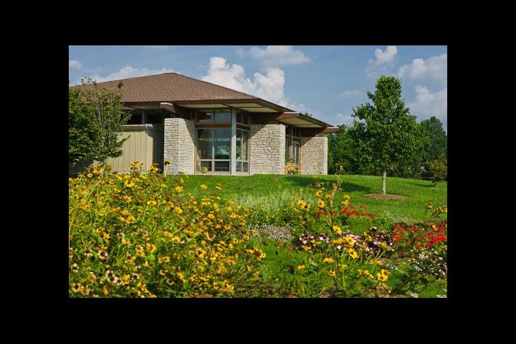 The Dorotha Smith Oatts Visitor Center at The Arboretum