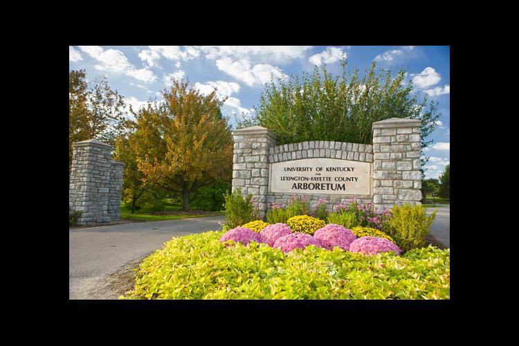 The Arboretum entrance