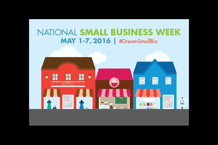 National Small Business Week Logo