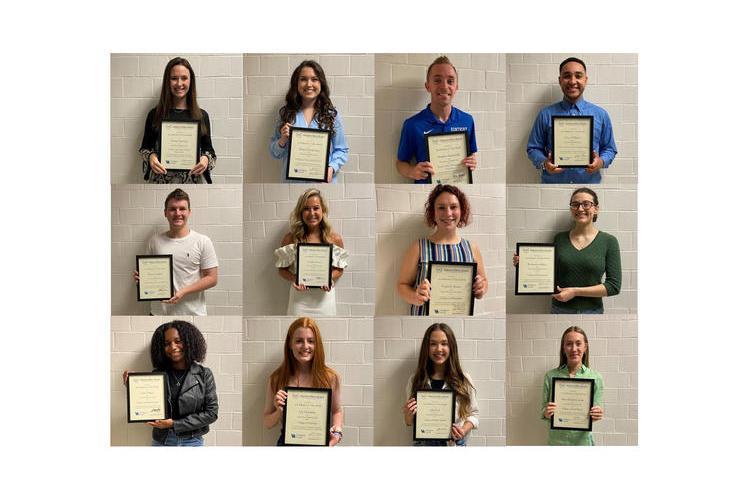 University of Kentucky's ODK Maurice A. Clay Award winners. Photos courtesy of ODK.