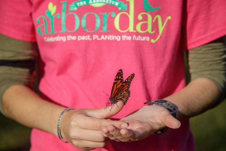 The Arboretum, State Botanical Garden of Kentucky recently celebrated Arbor Day.