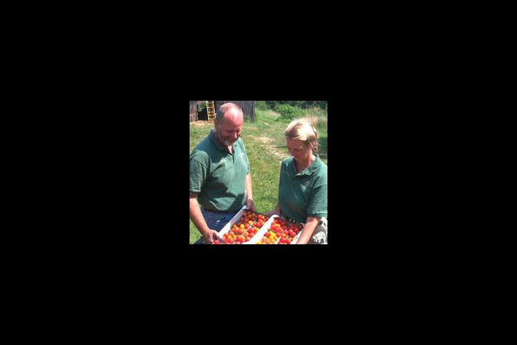 Organic farmers Paul and Alison Wiediger are among the many Kentucky producers who will share information at the Farm To Table Connection conference.