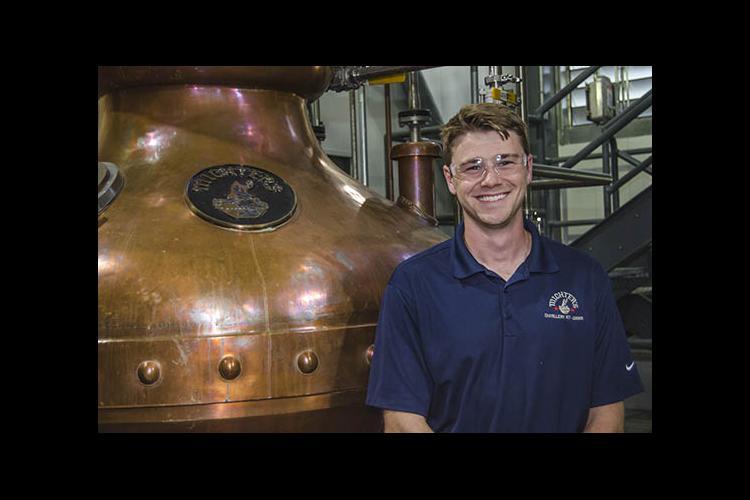 Ben Beam at Michter's Distillery in Louisville