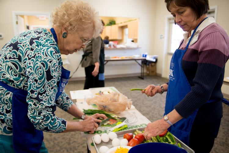 Food demonstration