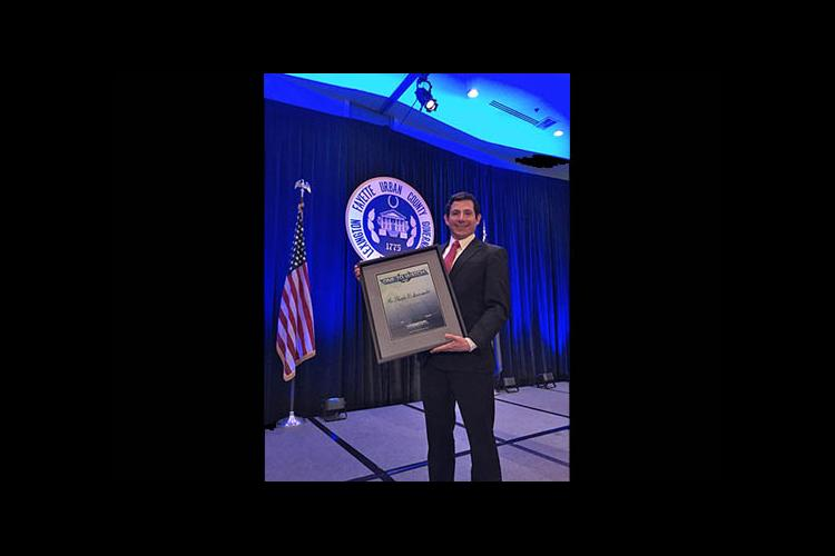 2014 Lexington Forum's One to Watch Award winner Fausto Sarimento