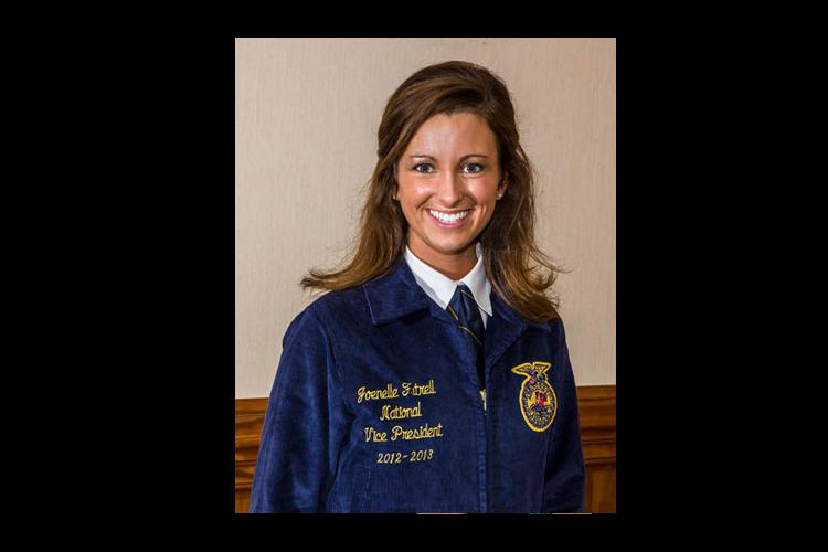 UK College of Ag student first Kentucky female named FFA national officer
