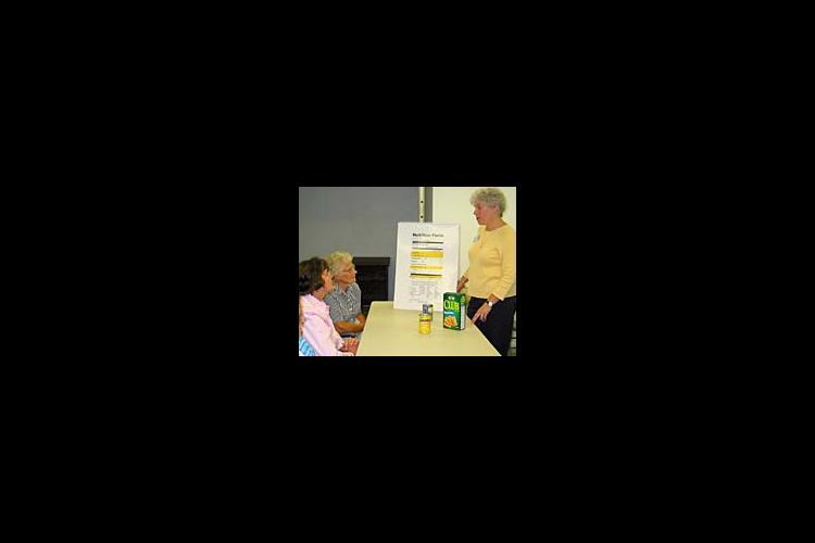 Donna Fryman teaches nutrition classes as a part of Get Healthy Hillsboro.