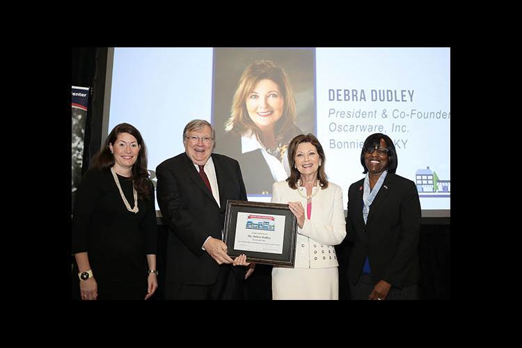 Sec. of State Alison Grimes, Ralph Ross U.S. SBA Kentucky District office, Debra Dudley, Lt. Gov. Jenean Hampton