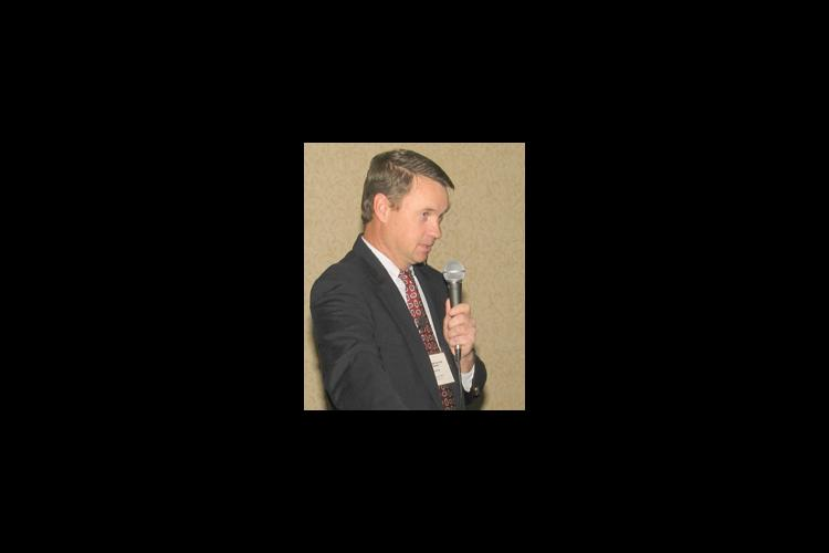 Nebraska producer Tom Larson was a featured speaker at the conference.