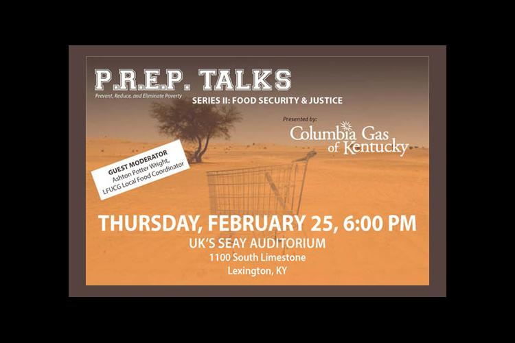 Prep Talk Flyer