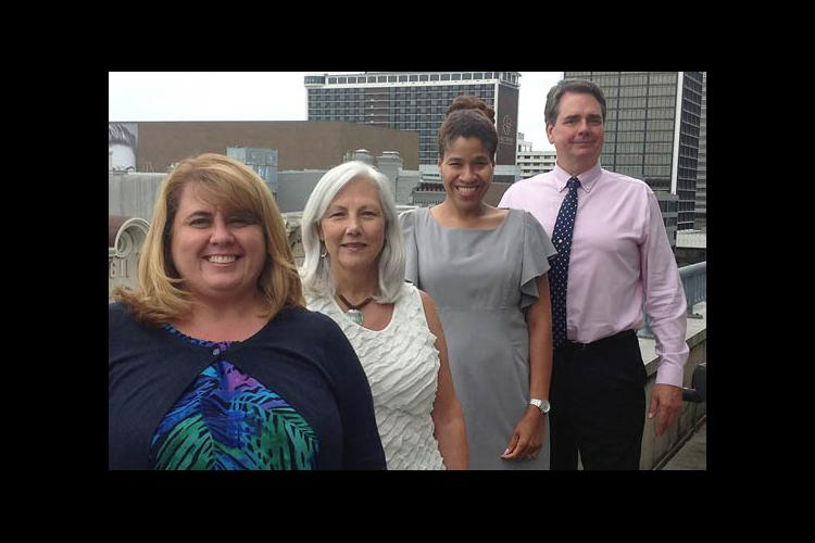 2016 State Star Award winners: (l-r) Janet Flaugh, Vallorie Henderson, Toni Sears, David Oetken