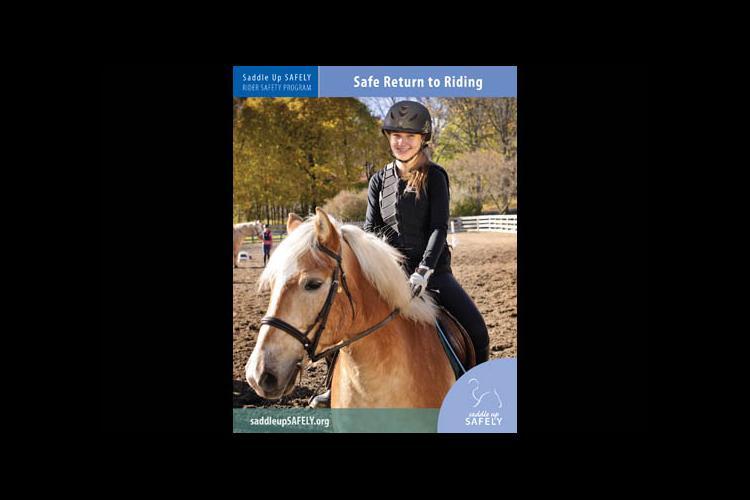 Saddle Up Safely brochure cover