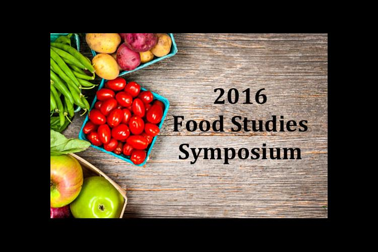 2016 Food Studies Symposium