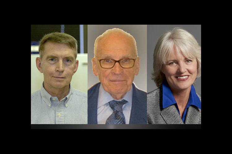 2012 UK Equine Research Hall of Fame inductees: George Allen, Eugene Lyons, Stephanie Valberg